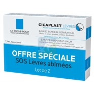 La Roche-Posay Cicaplast Lèvres Baume Barrière Réparateur 2 x 7,5 ml