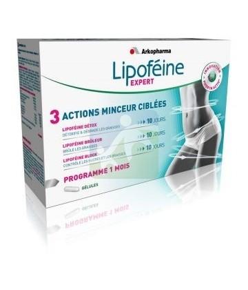 Arkopharma Lipoféine Expert Programme Minceur 1 Mois 40+20+45 Gé