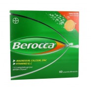 Berocca Comprimés Effervescents Sans Sucre Orange x 60