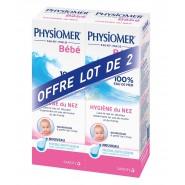 Physiomer Bébé Hygiène du Nez Spray 2 x 115 ml