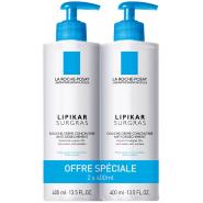 La Roche-Posay Lipikar Surgras Liquide 2 x 400 ml