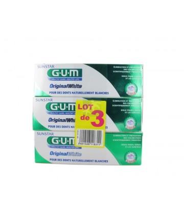 GUM Dentifrice OriginalWhite 3 x 75 ml