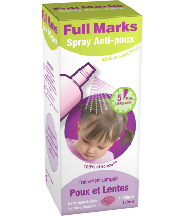 Full Marks Spray Anti-Poux 150 ml