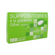 Gifrer Suppositoires Glycérine Adultes x 100
