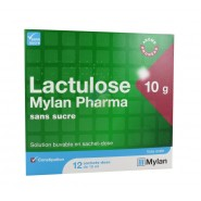 Lactulose Mylan Pharma 10 g Sans Sucre x 12