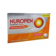 Nurofen 200 mg Sans Eau Goût Citron x 12