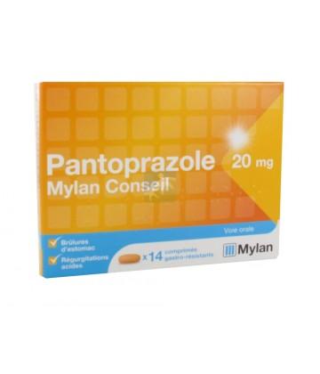 Mylan Pantoprazole 20 mg x 14