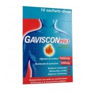 GavisconPro Menthe Sans Sucre x 10