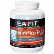 EAFIT Construction Musculaire - Ripped Max Saveur Vanille 750 gr