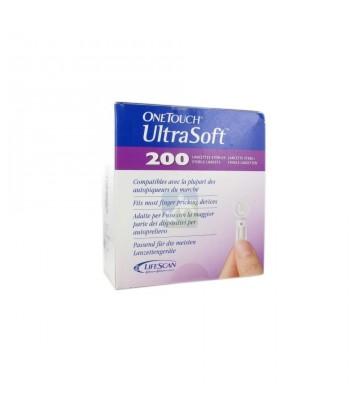 OneTouch UltraSoft 200 Lancettes Stériles