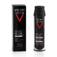 Vichy Homme Idealizer Hydratant Multi-actions Visage et Zones de Rasage 50 ml