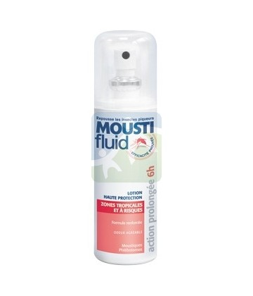 Gifrer Moustifluid Lotion Haute Protection Zones Tropicales et à Risques 100 ml