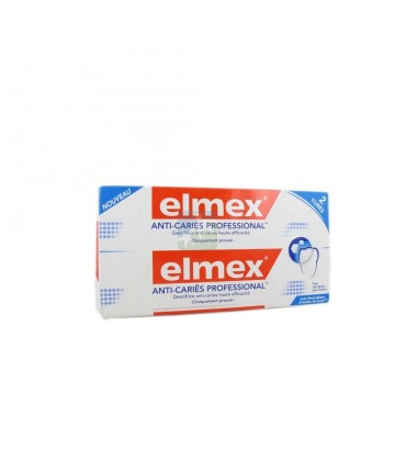 Elmex Anti-caries Dentifrice Professional 2 x 75 ml