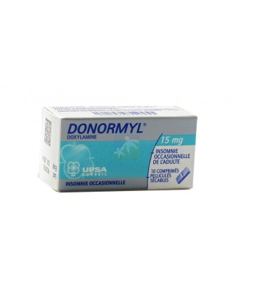 Donormyl 15 mg x 10