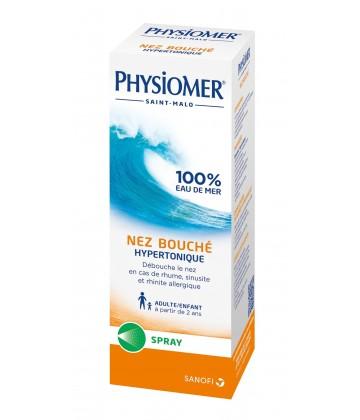 Physiomer Nez bouché Hypertonique 135 ml