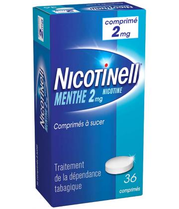 Nicotinell Menthe 2 mg Comprimés à sucer x 36