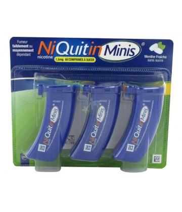 NiQuitinMini 1,5 mg Menthe Sans Sucre x 60
