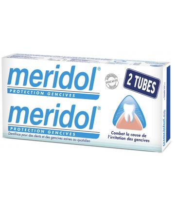 Meridol Dentifrice Protection Gencives 2 x 75 ml