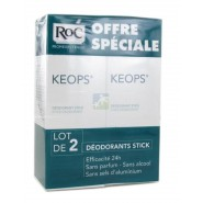 ROC Keops Déodorant Stick 2 x 40 ml
