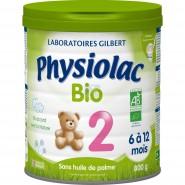 Physiolac Bio 2ème âge 800 g