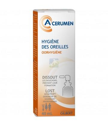 Gilbert A-Cerumen Spray Auriculaire Formule Coloré 40ml
