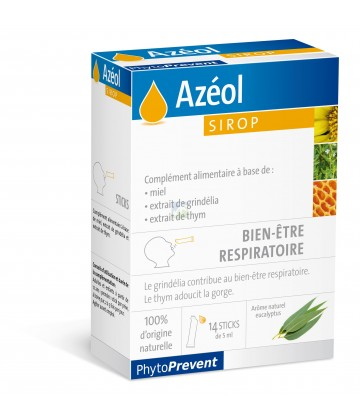 PiLleJe Azéol Sirop x 14 sticks