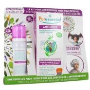 Puressentiel Kit Anti-Poux Traitement Complet Lotion + Peigne