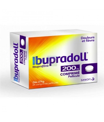 Ibupradoll 200 mg Comprimés x 24