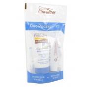 Rogé Cavaillés Duo Pocket Crème Main 20 Ml + Baume Lèvres 5.5 ml