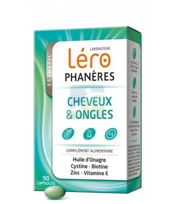 Léro Phanéres Cheveux Ongles Capsules x 90