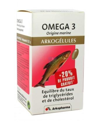 Arkogélules Omega 3 Origine Marine (huile de poissons) x 180