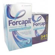 Forcapil Cheveux et Ongles 180 gélules + 60 gélules OFFERTES