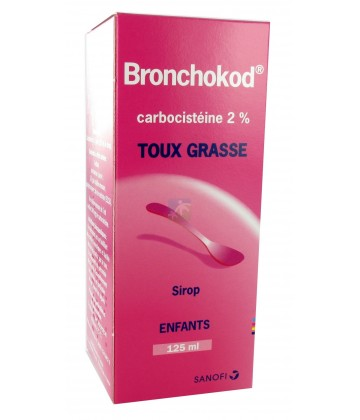 Bronchokod Enfants 2% Sirop 125 ml
