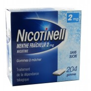 Nicotinell 2 mg Menthe Fraîcheur Sans Sucre x 204