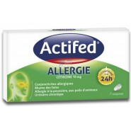 Actifed Allergie Cetirizine 10 mg x 7