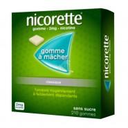 Nicorette 2 mg Sans Sucre x 210