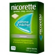 Nicorette 2 mg Sans Sucre x 105