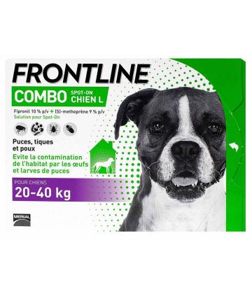 Frontline Combo Chien L x 6