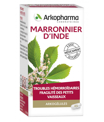 Arkogélules Marronnier d'Inde x 45