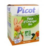 Picot Boisson aux Plantes Fleur d'Oranger 10 x 5 g