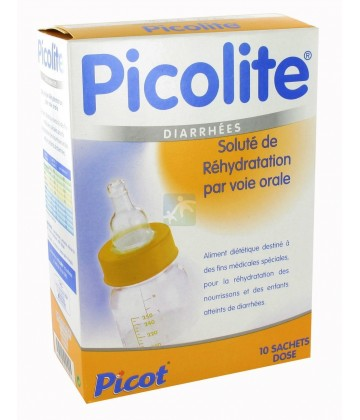 Picot Picolite Soluté Oral de Réhydratation 10 x 20 g