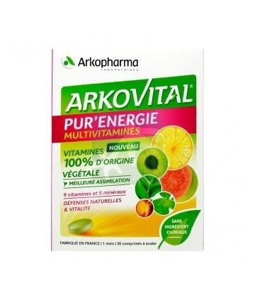 Arkopharma Arkovital Pur'Énergy x30 | Comparateur de prix