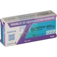 Diosmine Zentiva 600 mg x 30