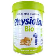 Physiolac Bio 1er âge 800 g