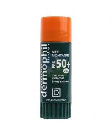Dermophil Indien Soin Lèvres Mer Montagne SPF 50+