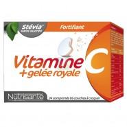 Nutrisanté Vitamine C + Gelée Royale Fortifiant x 24