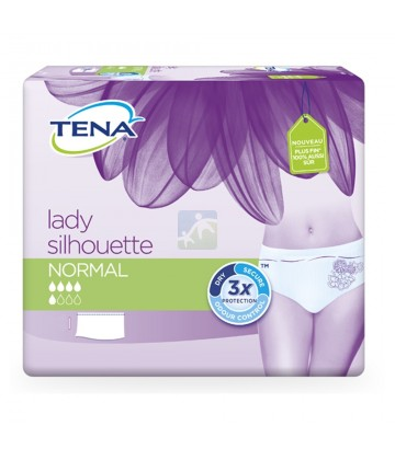 TENA Lady Silhouette Normal Large x 10