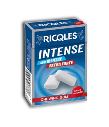 Ricqlès Intense Chewing Gum Menthe Extra-Forte 28,6 g