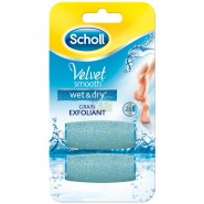 Scholl Velvet Smooth Wet and Dry Rouleau de Remplacement x 2