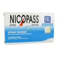 Nicopass 1,5 mg Pastilles Menthe Fraîcheur x 12